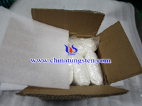 Ammonium Metatungstate Sample Packing Photo
